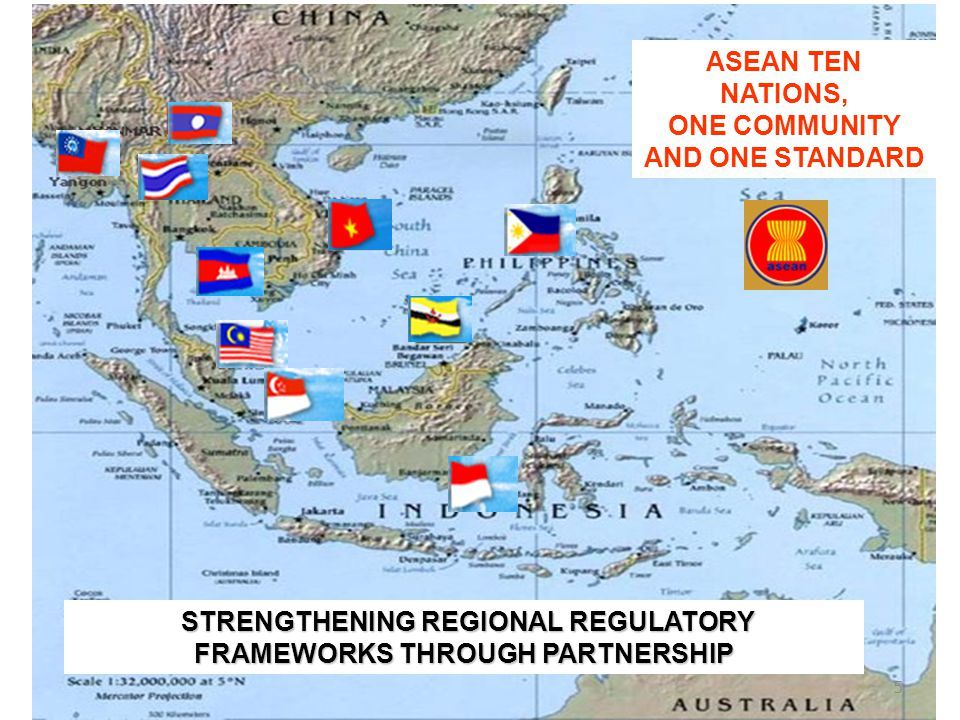 ASEAN TEN NATIONS, ONE COMMUNITY AND ONE STANDARD