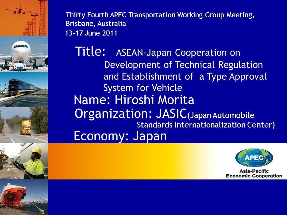 Title: ASEAN-Japan Cooperation on
