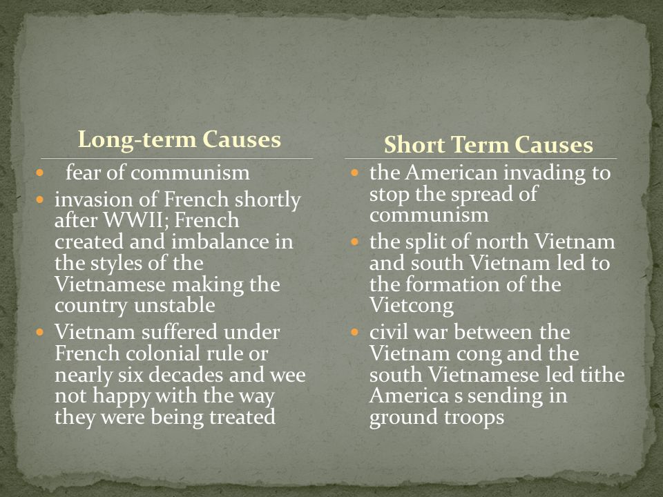 Short Term and Long Term Causes of the Civil War Essay Sample