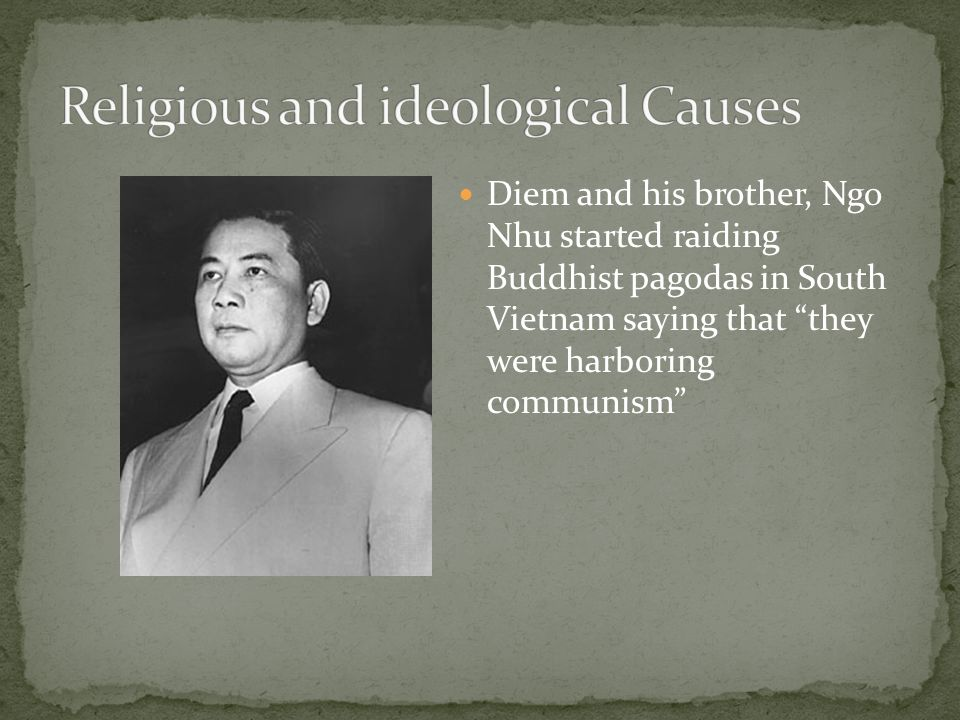 Religious and ideological Causes