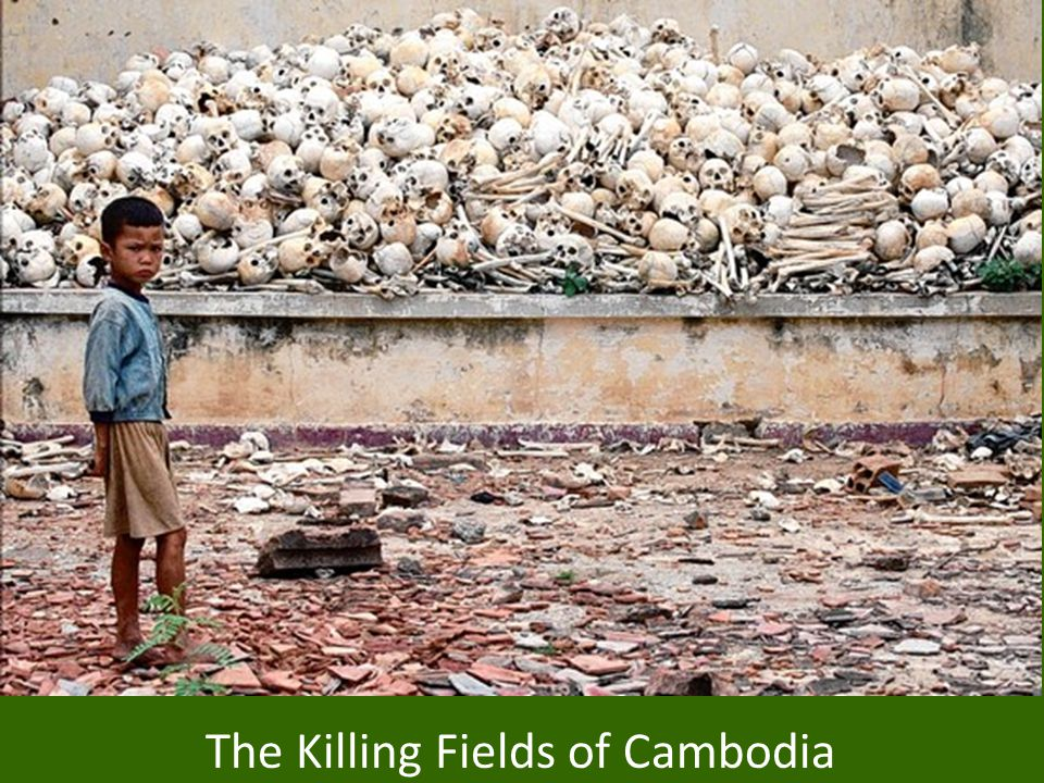 The Killing Fields of Cambodia