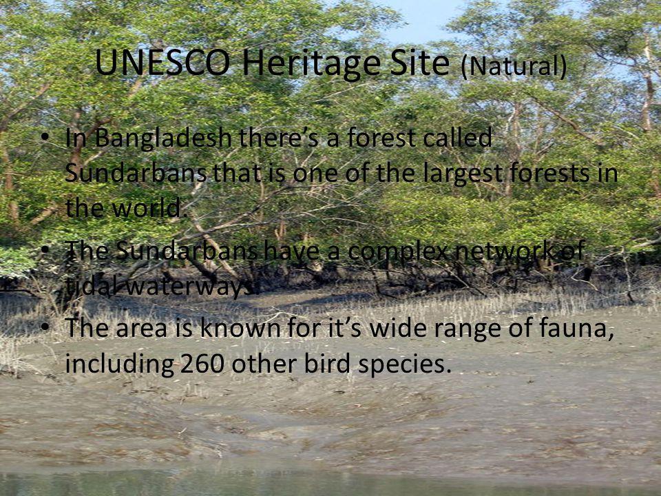 UNESCO Heritage Site (Natural)