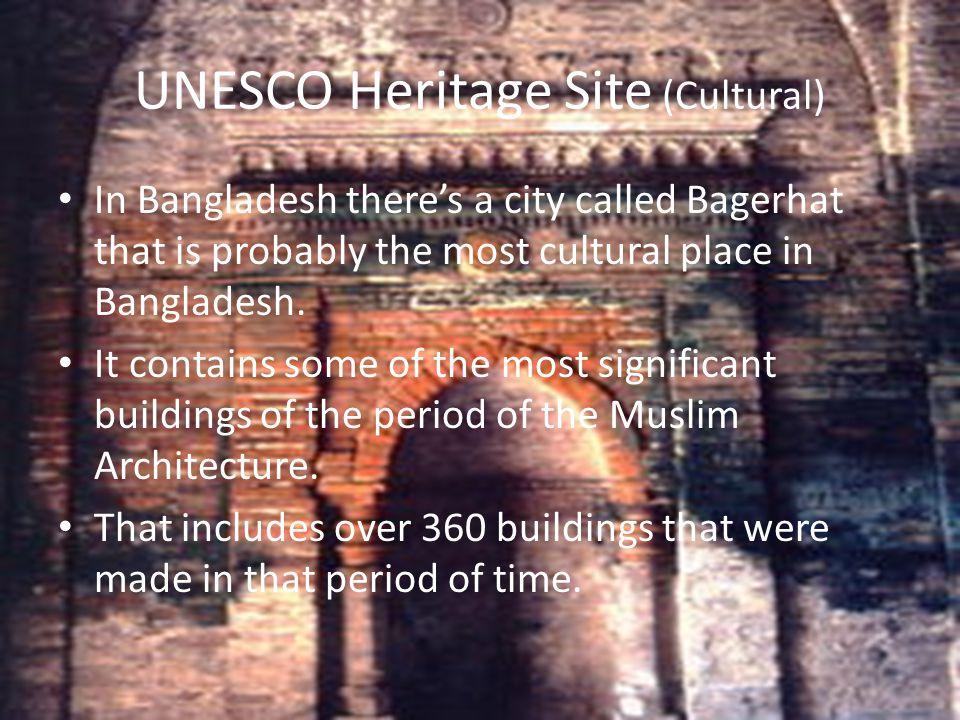 UNESCO Heritage Site (Cultural)
