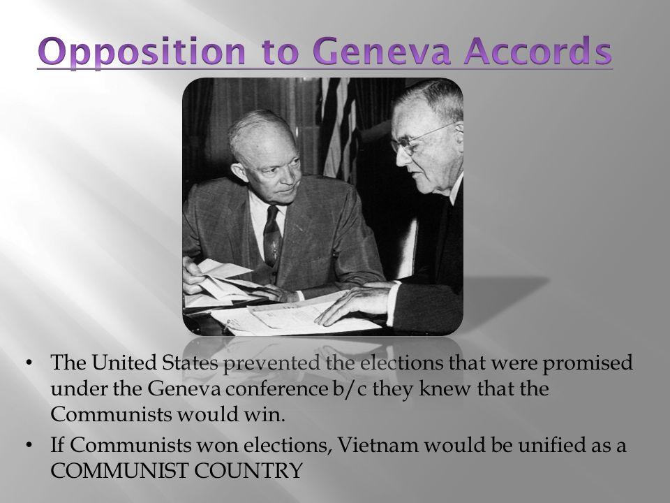Opposition to Geneva Accords