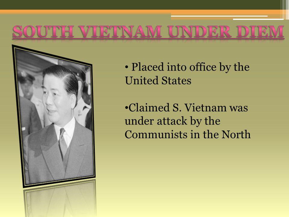 South Vietnam under diem