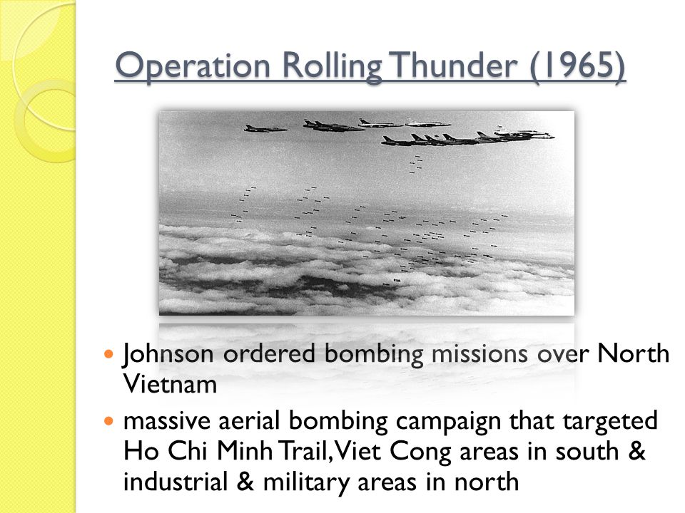 Operation Rolling Thunder (1965)
