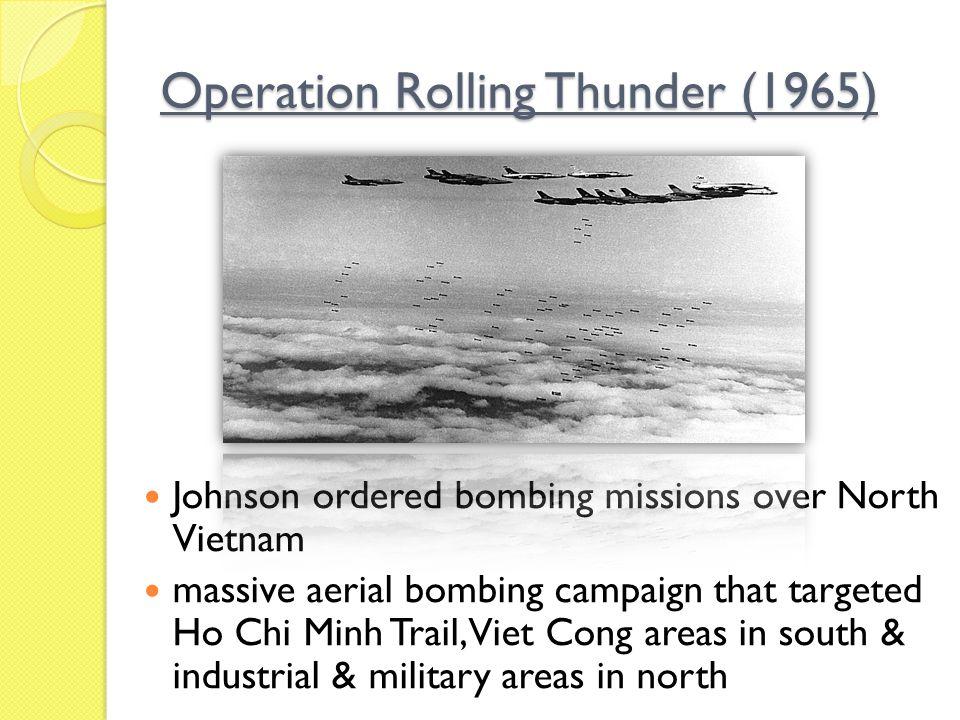 Operation Rolling Thunder (1965)