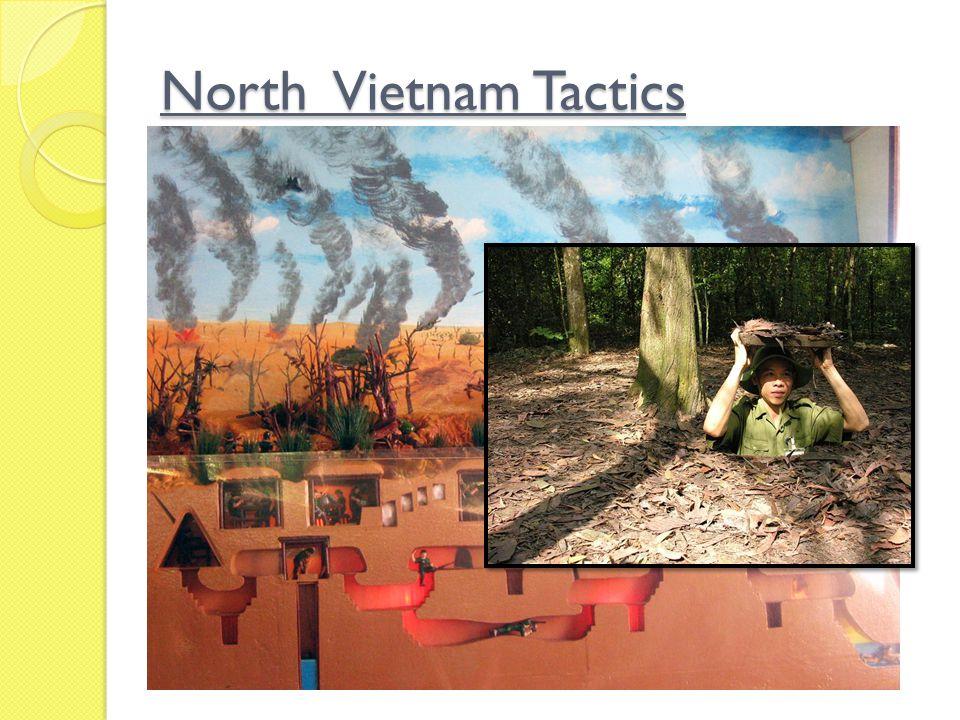 North Vietnam Tactics