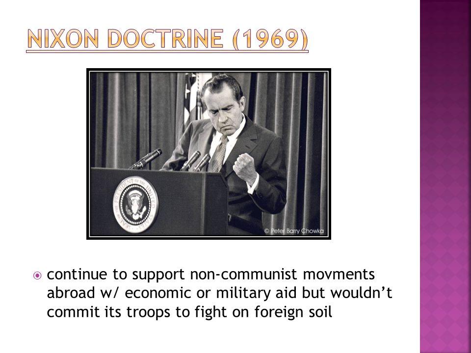 Nixon Doctrine (1969)