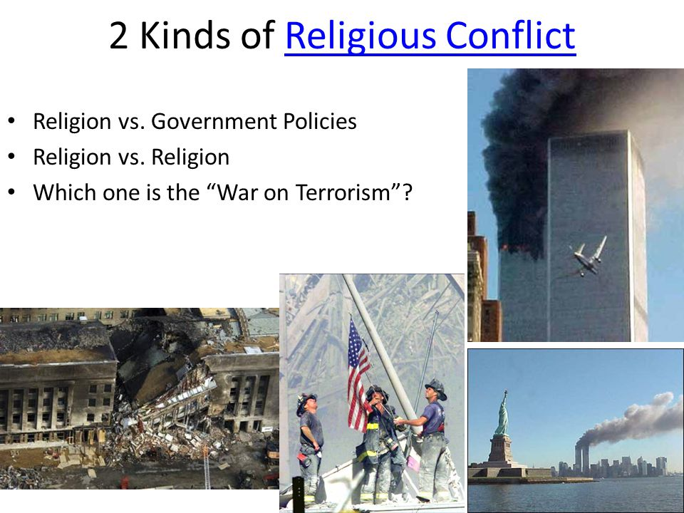 2 Kinds of Religious Conflict