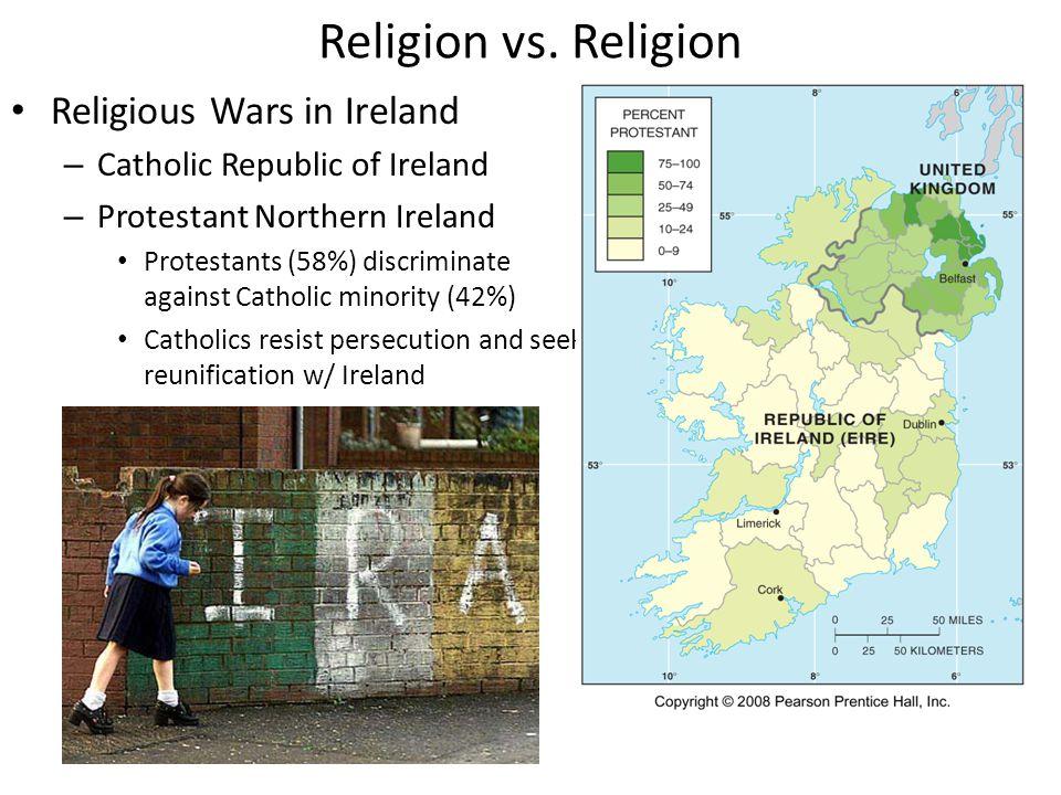 Religion vs. Religion Religious Wars in Ireland