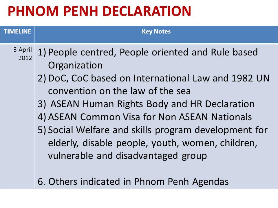 PHNOM PENH DECLARATION