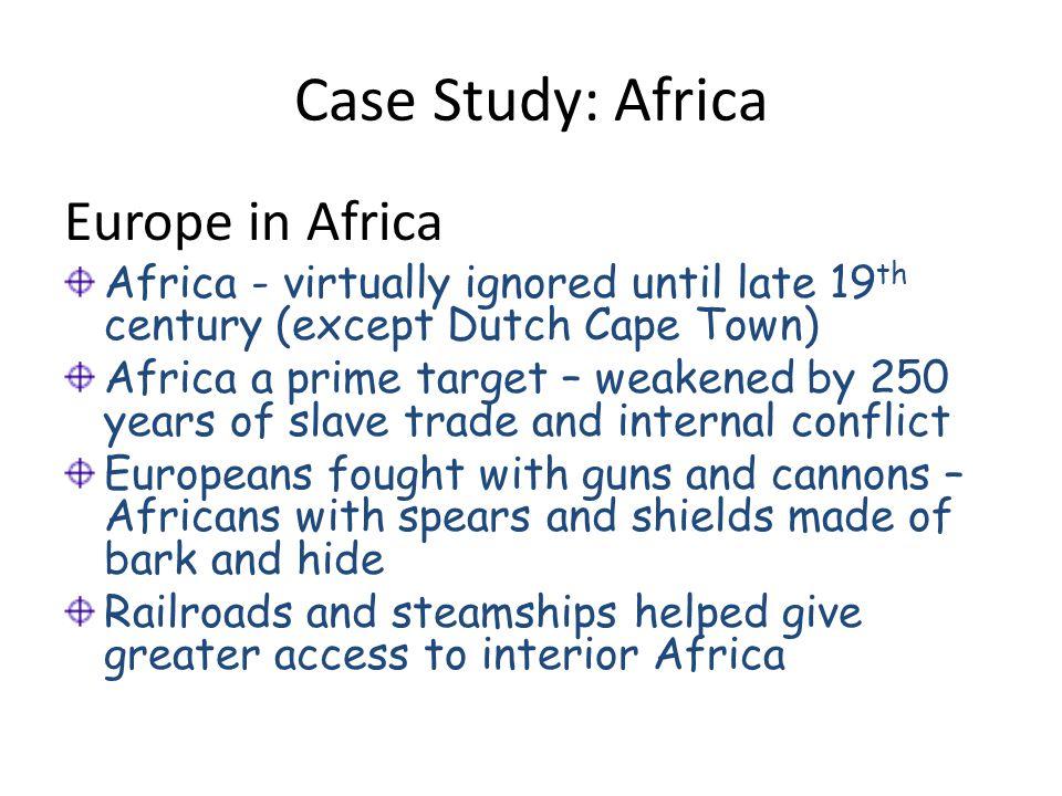 Case Study: Africa Europe in Africa