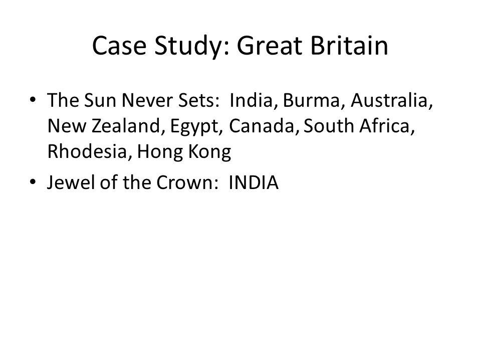 Case Study: Great Britain