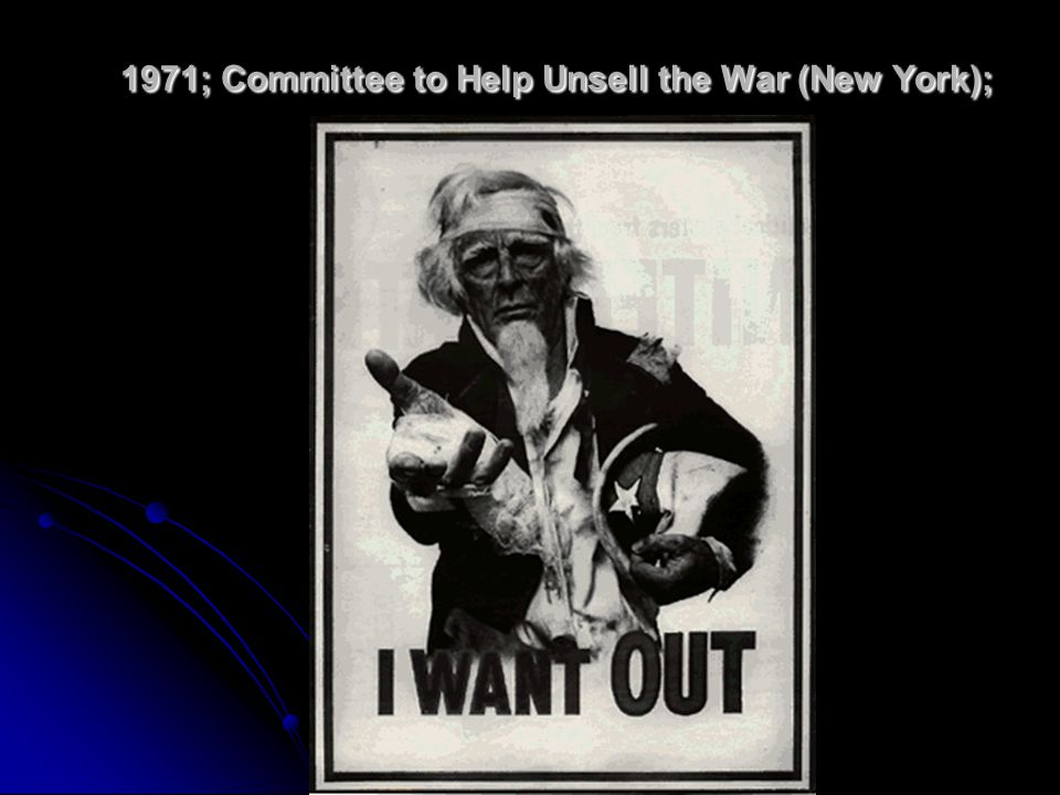 1971; Committee to Help Unsell the War (New York);