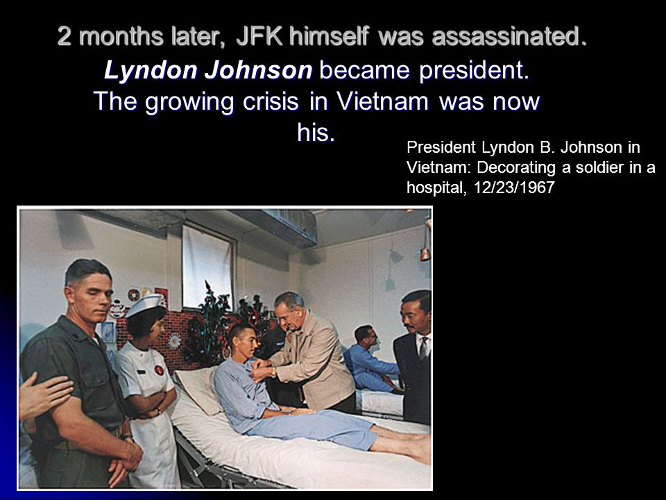 2 months later, JFK himself was assassinated.