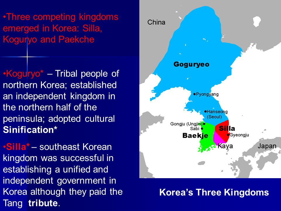 Korea's Three Kingdoms