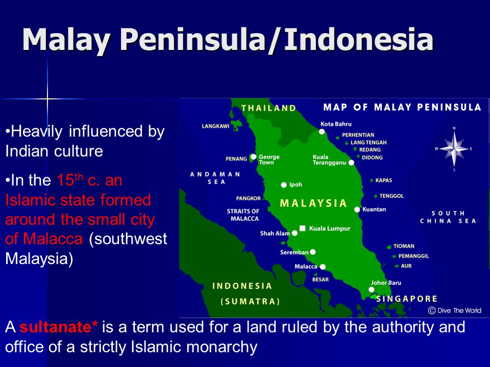 Malay Peninsula/Indonesia