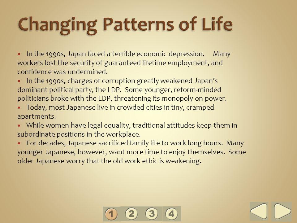 Changing Patterns of Life