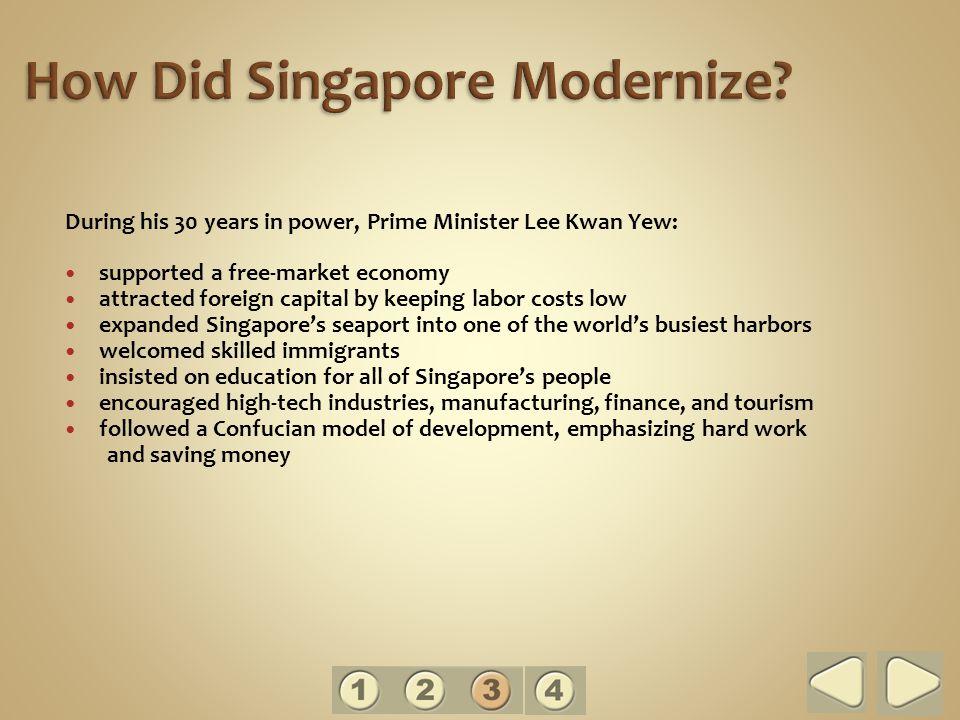 How Did Singapore Modernize