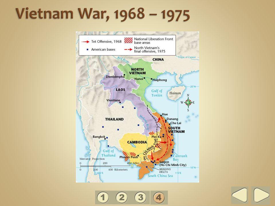 Vietnam War, 1968 – 1975