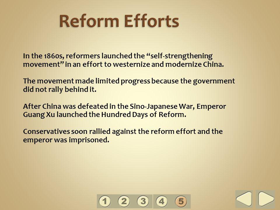 Reform Efforts