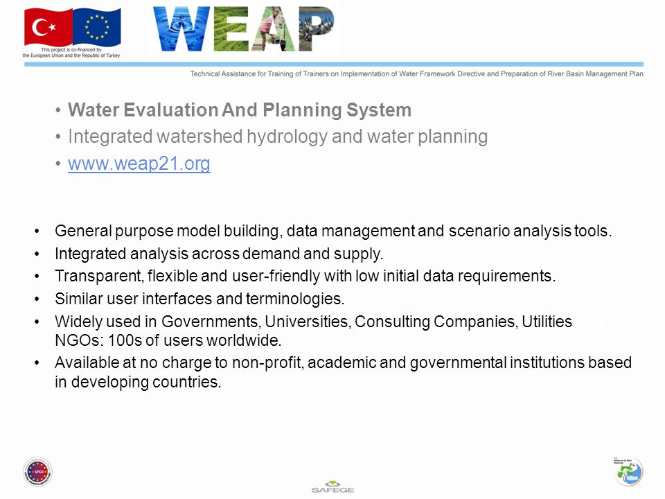 Water Evaluation And Planning System