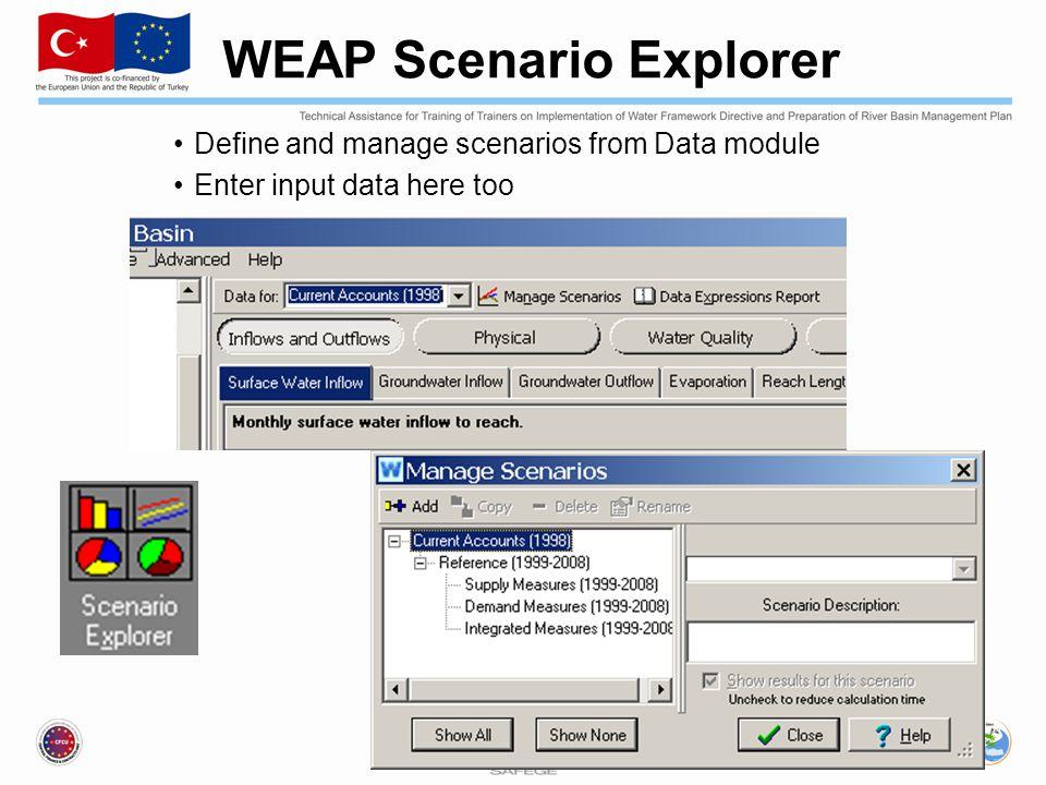 WEAP Scenario Explorer
