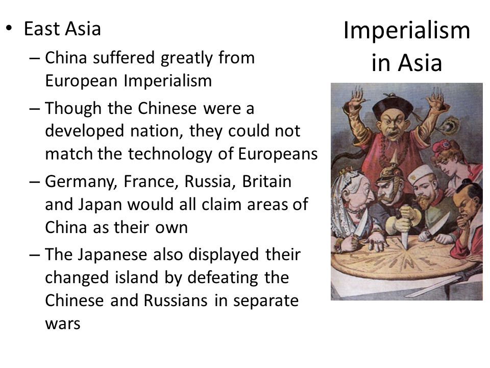 Imperialism in Asia East Asia