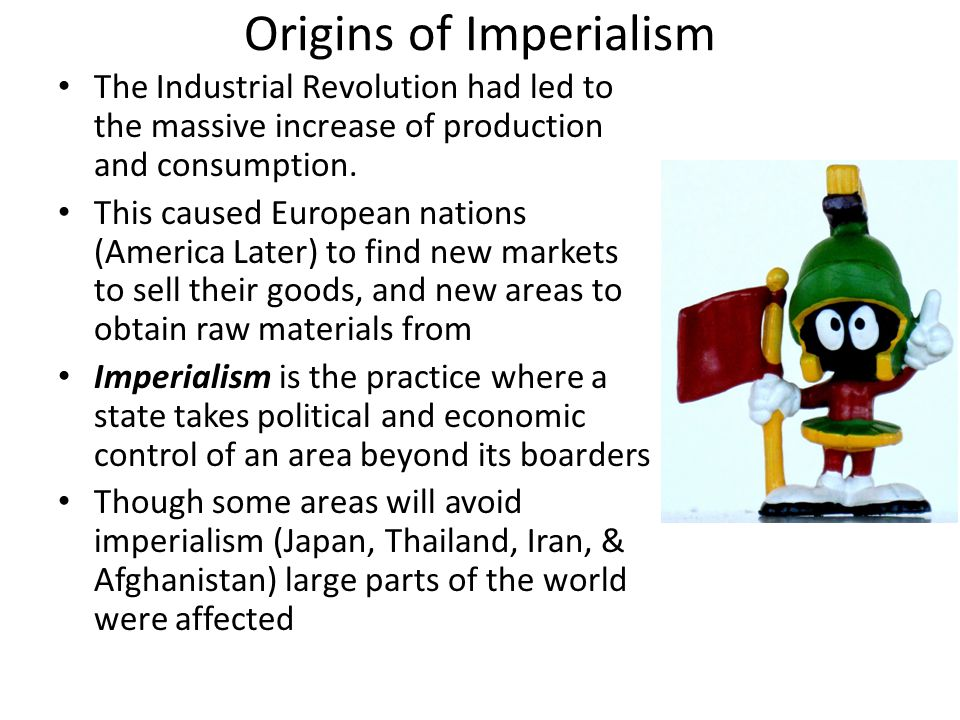Origins of Imperialism