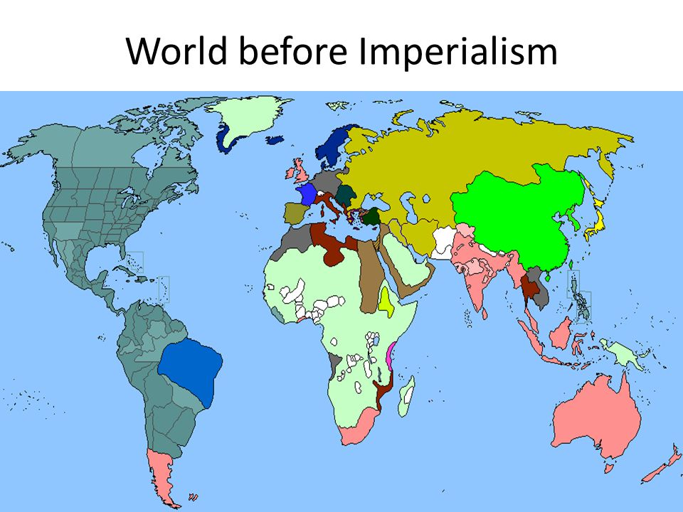 World before Imperialism
