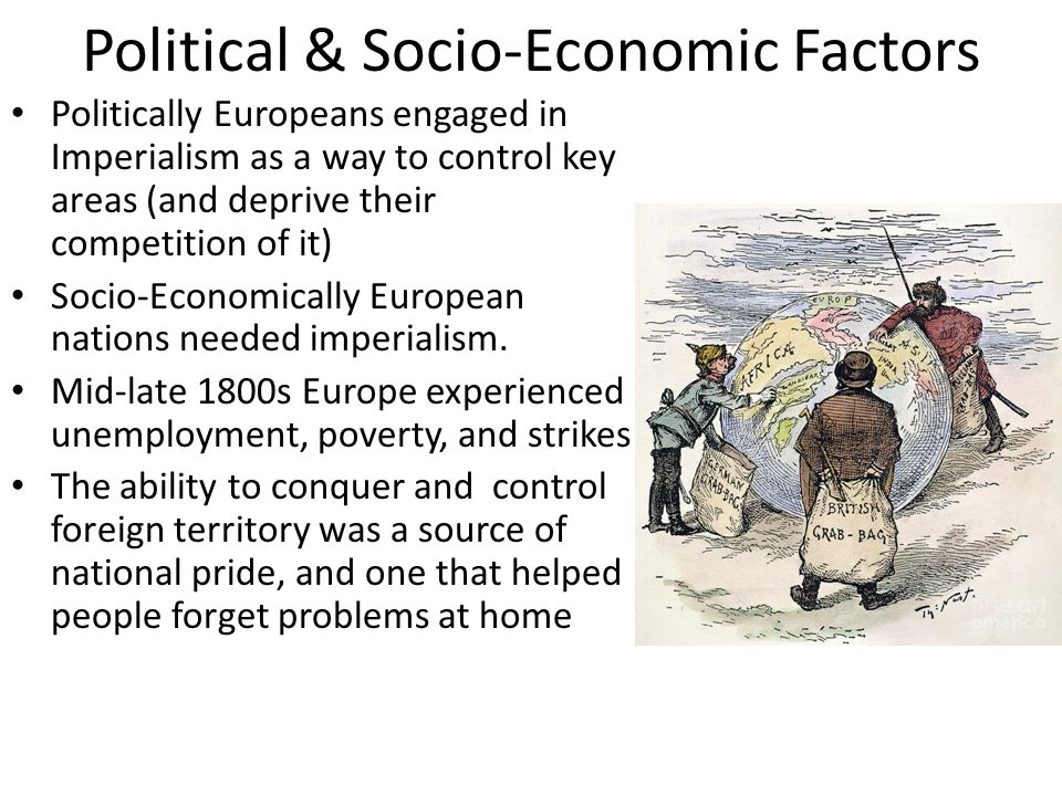 Political & Socio-Economic Factors