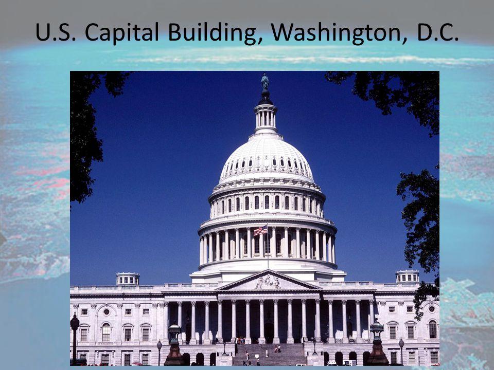 U.S. Capital Building, Washington, D.C.