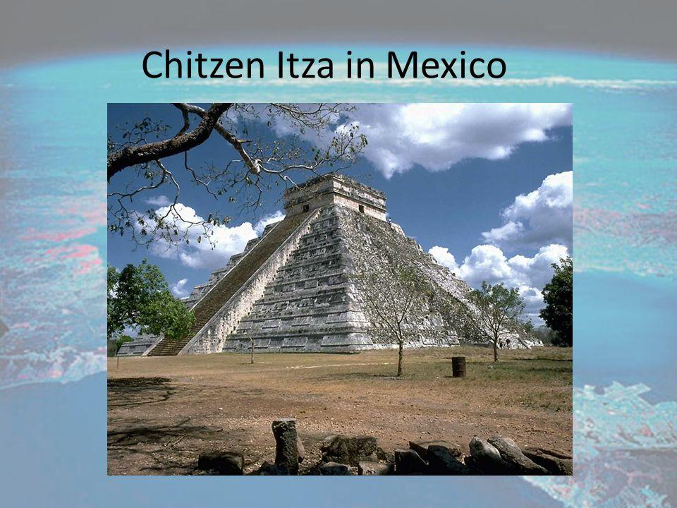 Chitzen Itza in Mexico