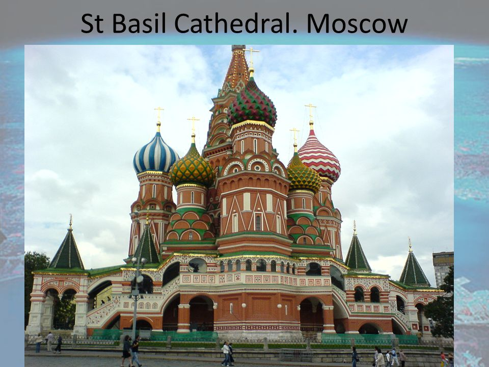 St Basil Cathedral. Moscow
