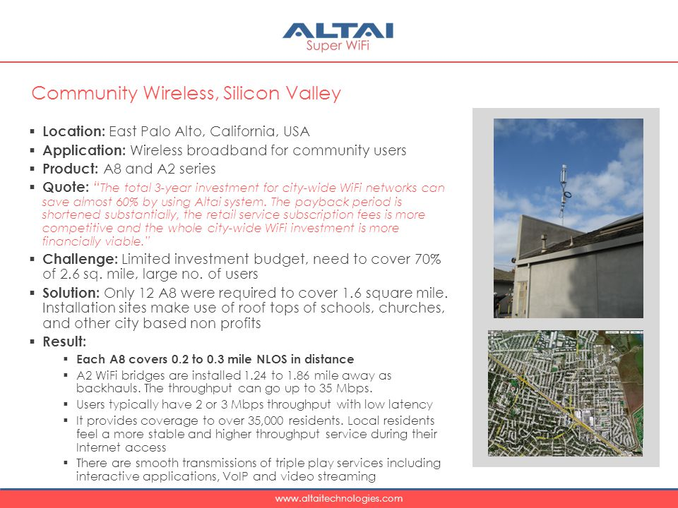 Community Wireless, Silicon Valley
