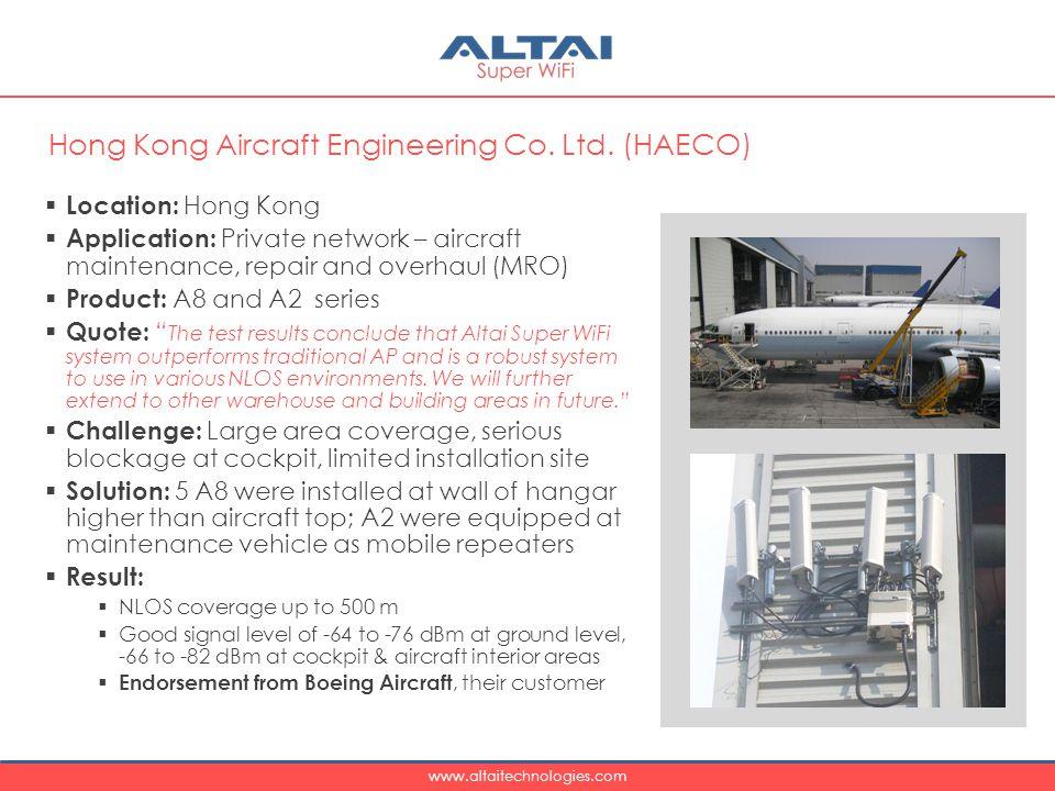 Hong Kong Aircraft Engineering Co. Ltd. (HAECO)