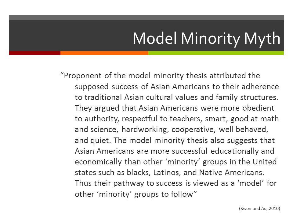 Model Minority Myth