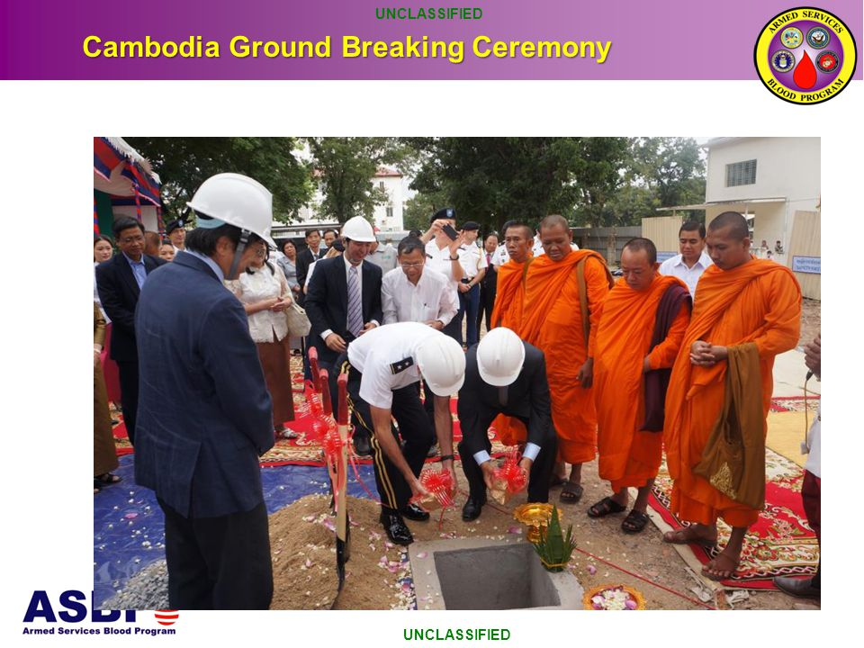 Cambodia Ground Breaking Ceremony