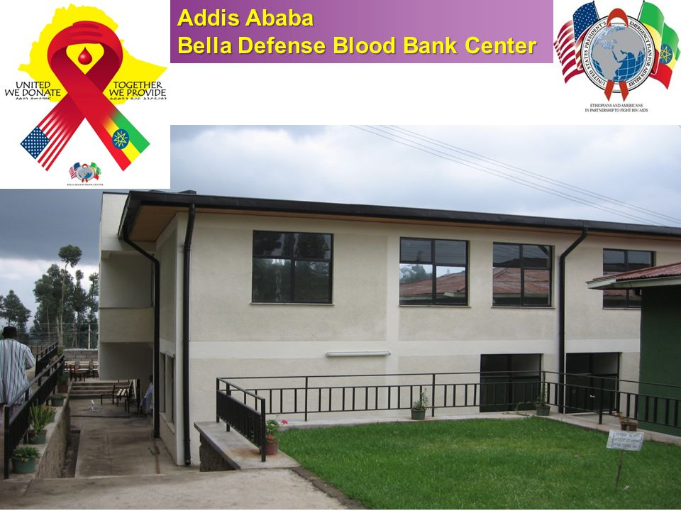 New Bella Facility Addis Ababa Bella Defense Blood Bank Center