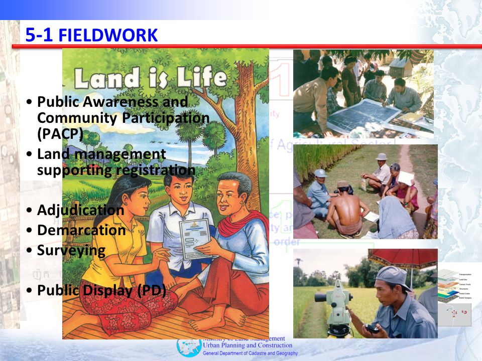 5-1 FIELDWORK Public Awareness and Community Participation (PACP)