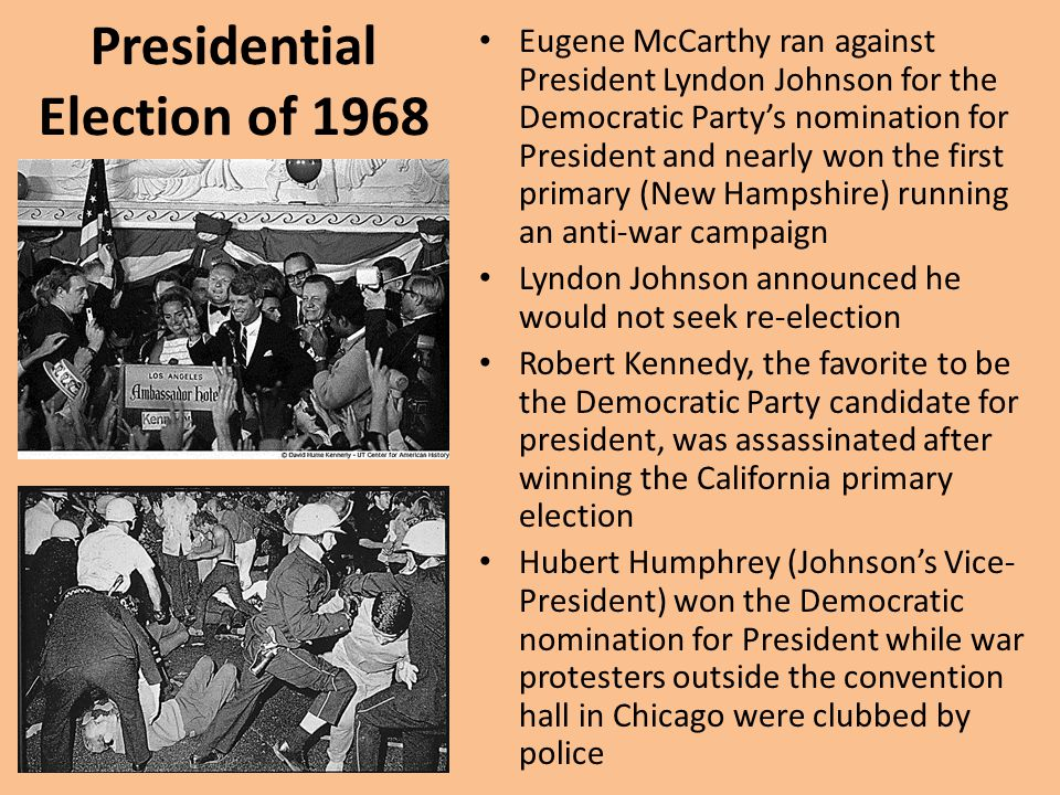 Presidential Election of 1968