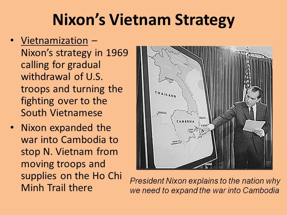 Nixon's Vietnam Strategy
