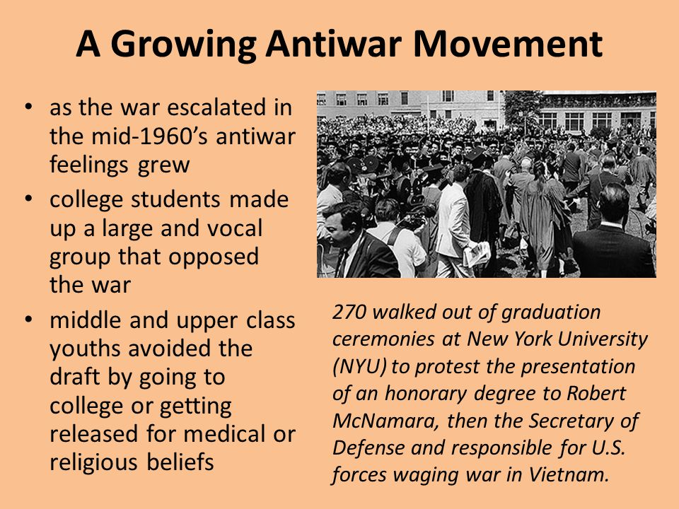 A Growing Antiwar Movement