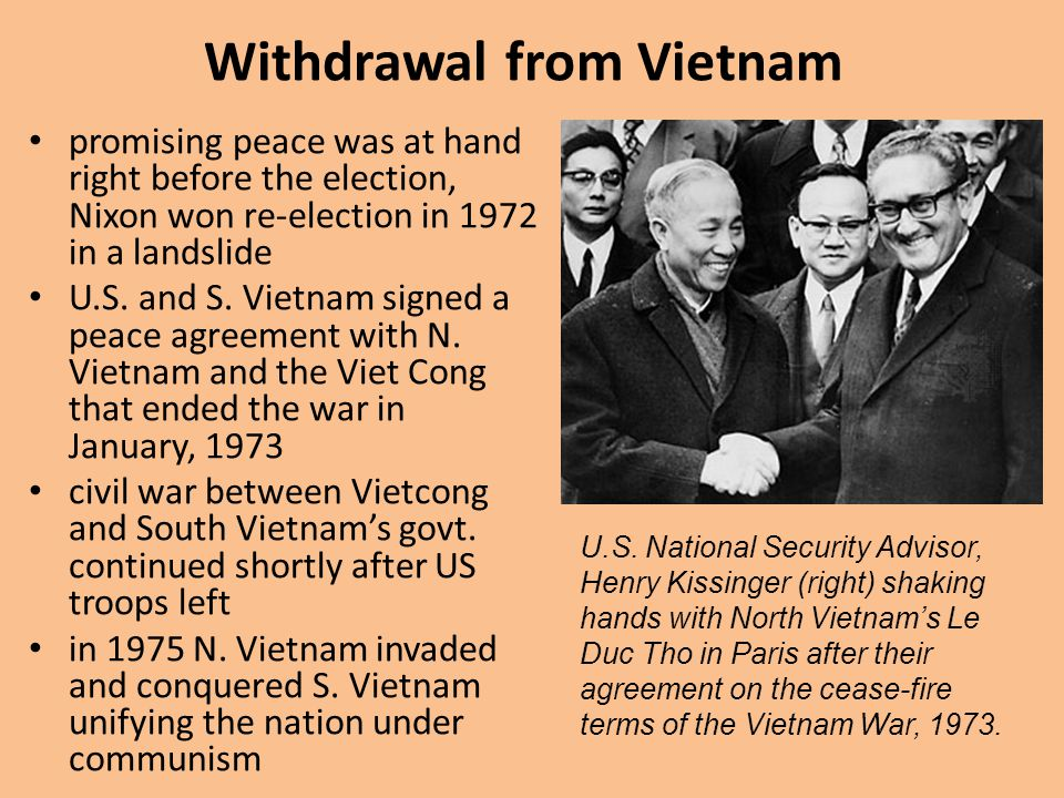 Withdrawal from Vietnam