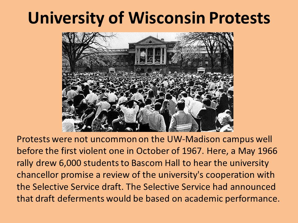 University of Wisconsin Protests
