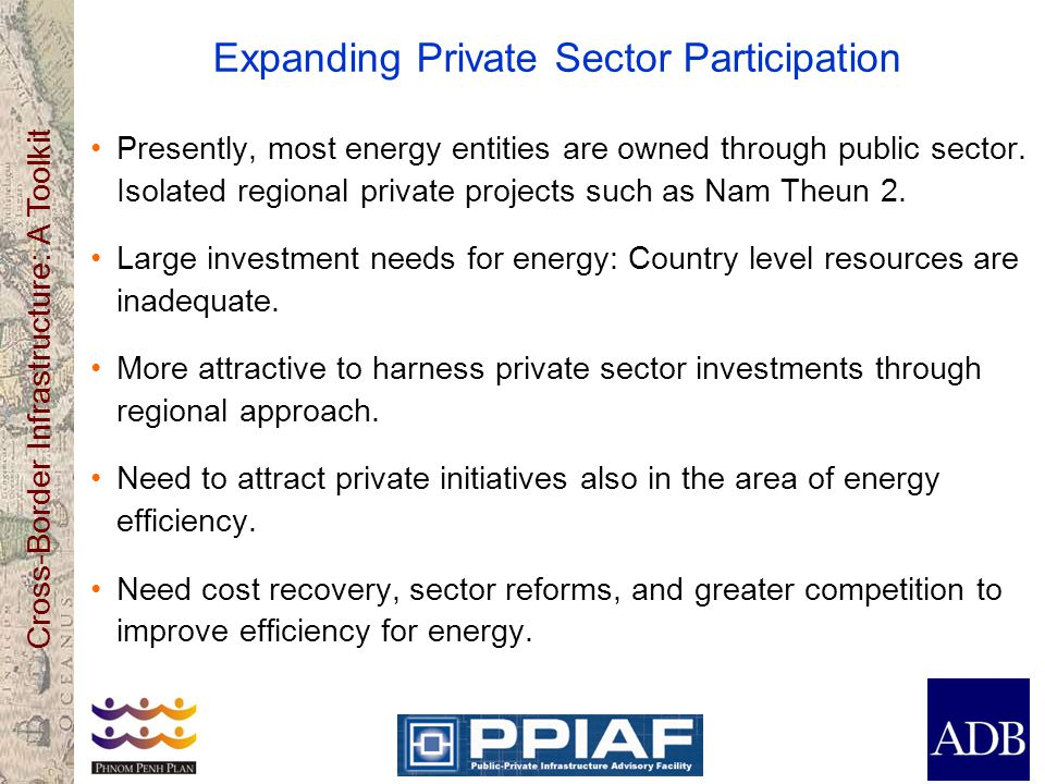Expanding Private Sector Participation