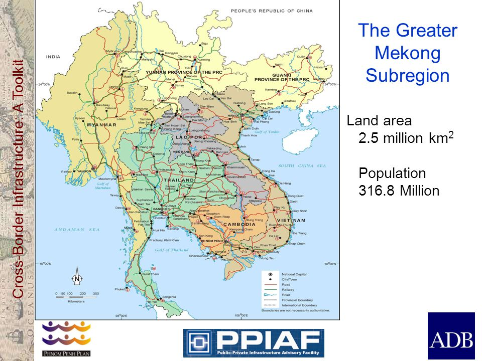 The Greater Mekong Subregion