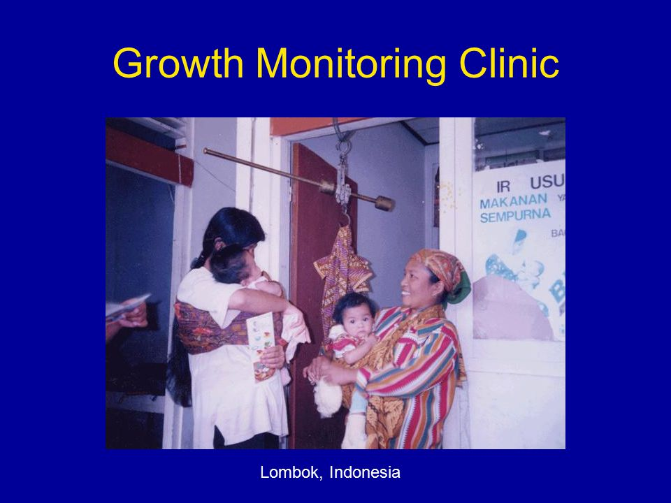 Growth Monitoring Clinic