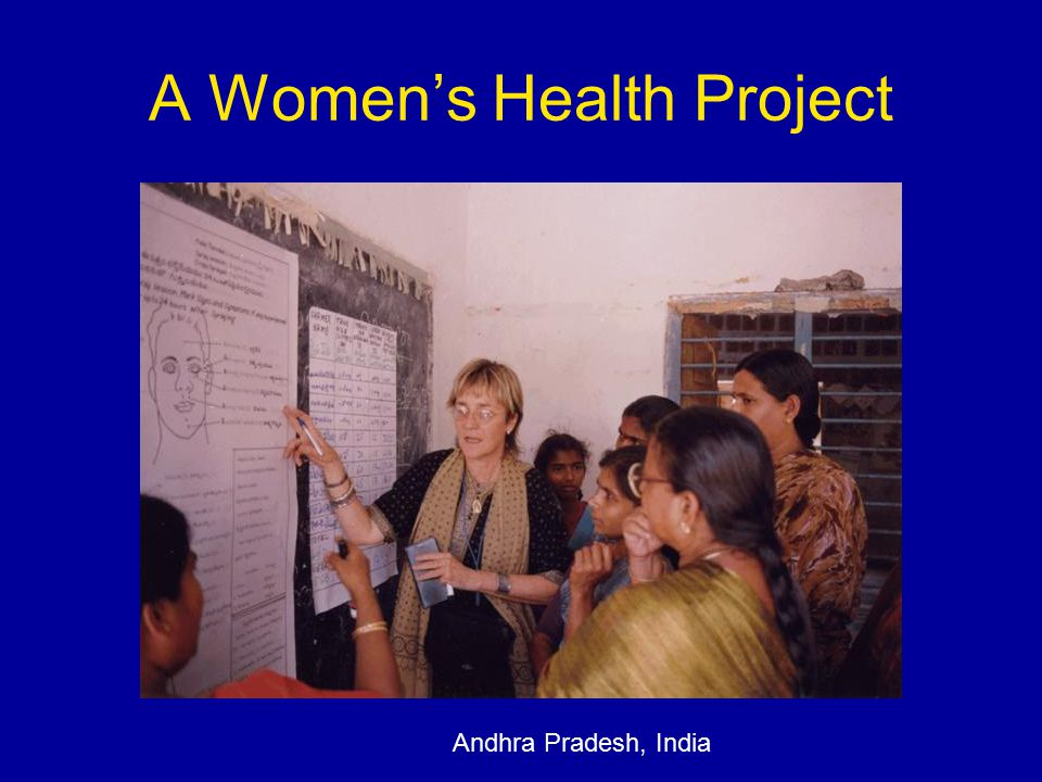 A Women's Health Project